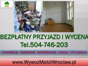 Odbiór starych mebli Wrocław