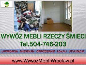 Utylizacja gratów, Wrocław, tel 504-746-203,