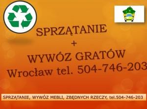 Generalne sprzątanie, Wrocław