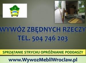 Wywóz rzeczy Wrocław