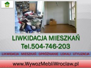 Oczyszczenie mieszkania Wrocław