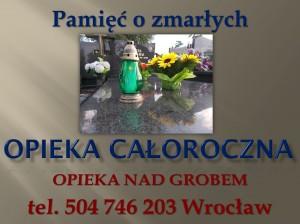 Groby Wrocław , tel 504-746-203.