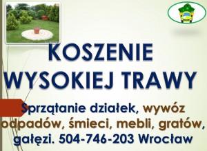 Koszenie Wrocław tel 504-746-203