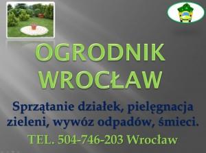 Usługi ogrodnicze Wrocław.